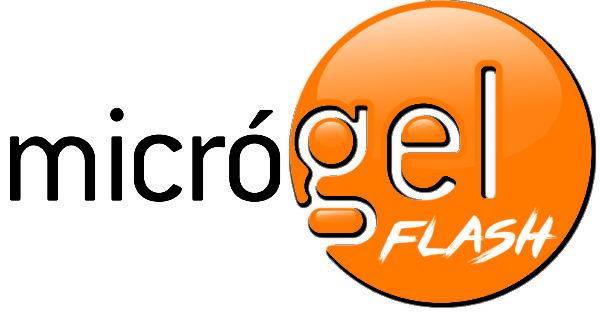 MicroGel Flash Logo